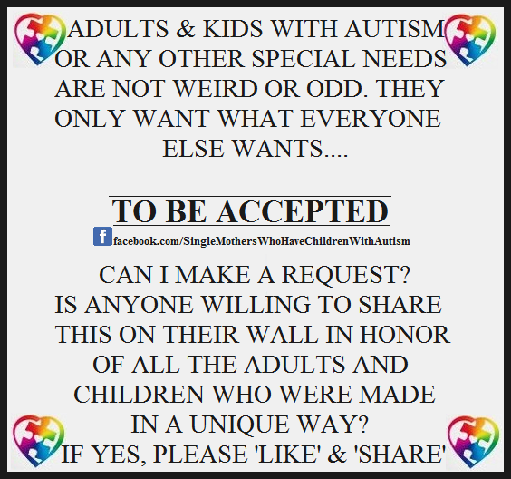 To be accepted