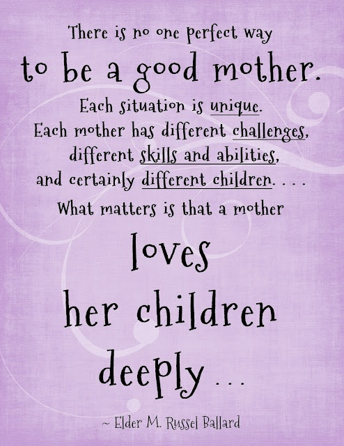 Love your children deeply