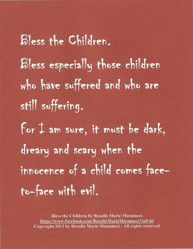 When Innocence meets evil