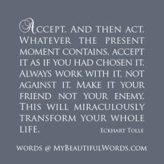 Eckhart Tolle - Accept