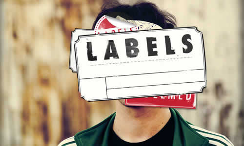 labeling a person